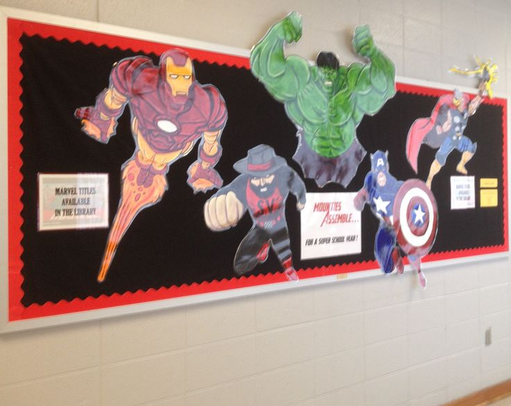 Marvel Superhero Classroom Decorations Super Hero Theme