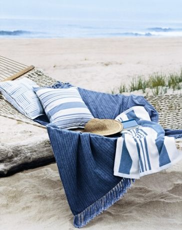 There is quite nothing like relaxing on the beach... I love the idea of a hammock on the beach. #BHCBeachDays