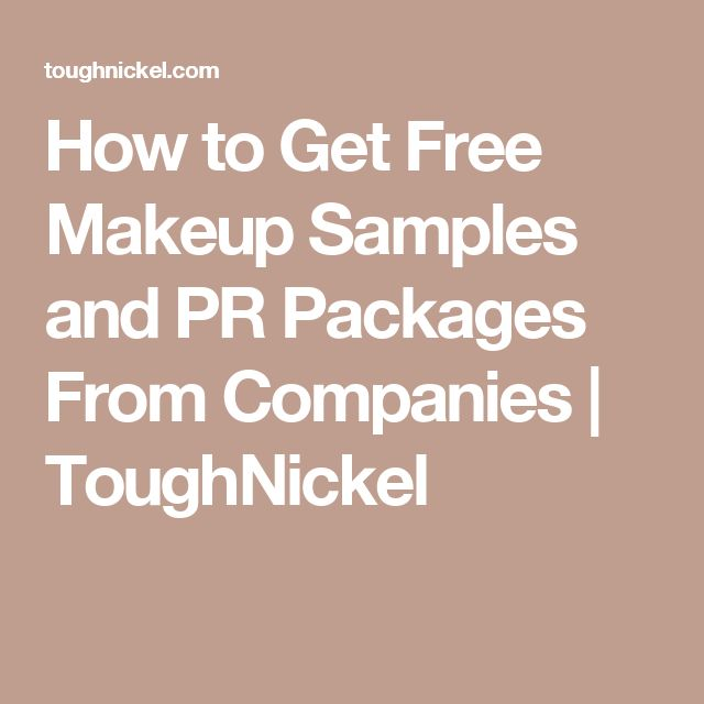Best 25+ Free makeup samples ideas on Pinterest   Makeup ...