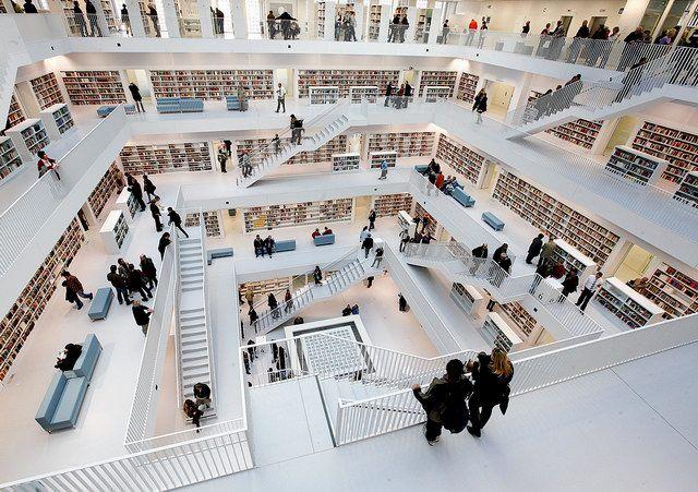 Stuttgart City Library  http://blog.jason-china.com/wp-content/gallery/2011/the-new-stuttgart-city-library-4.jpg