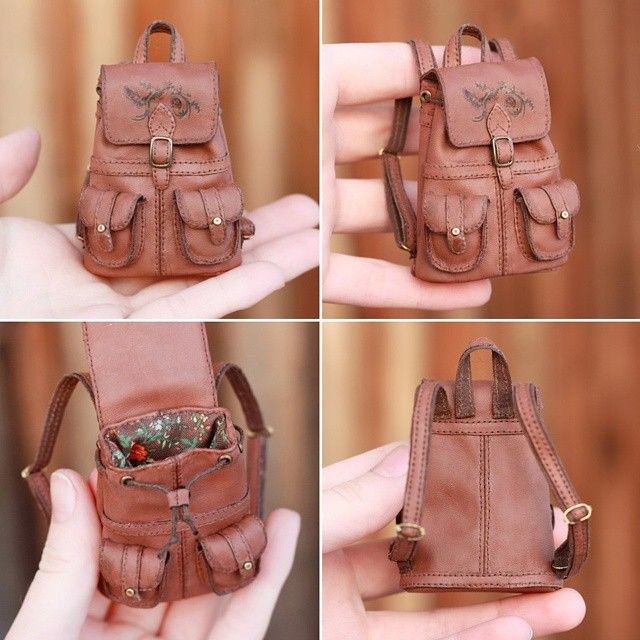 1/6 scale Backpack for a Doll by striped-box.deviantart.com on @DeviantArt