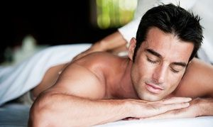 Groupon - $ 39 for a 60-Minute Full-Body Massage at Men's Spa ($90 Value) in Men's Spa. Groupon deal price: $39