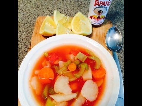 Como hacer Caldo De Papa. How to make Potato Soup (Mexican Style)