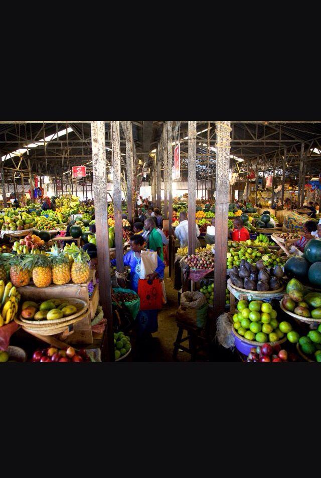 Kigali food market