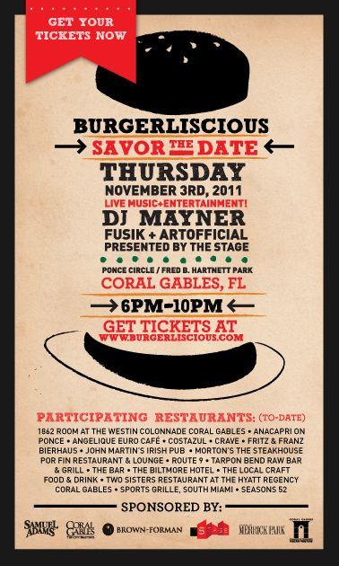 Composición hamburguesa rellena del evento #DiseñoFlyer #FlyerDesing #DiseñoGráfico