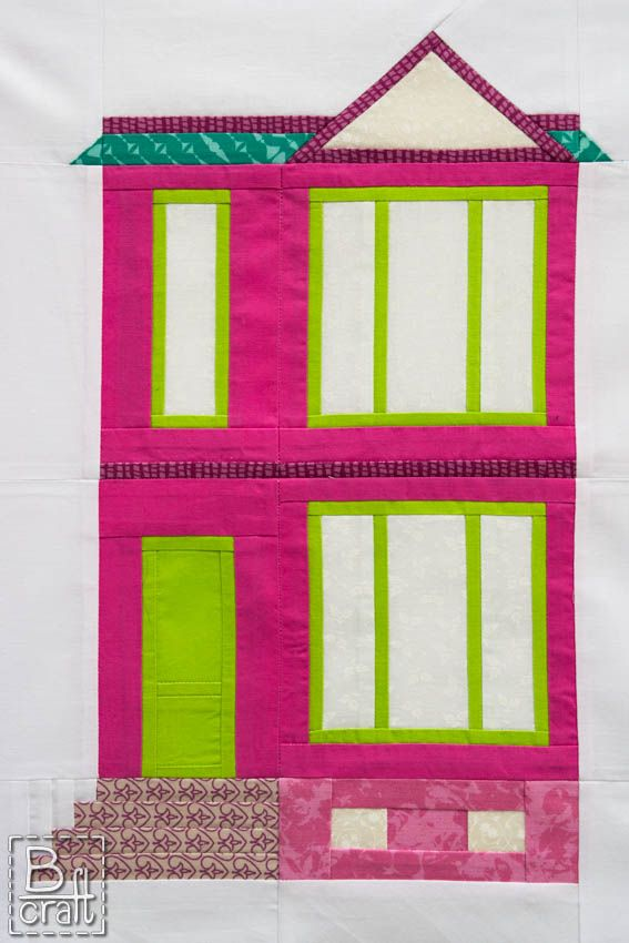 Houses Mini Quilt Along part 4: