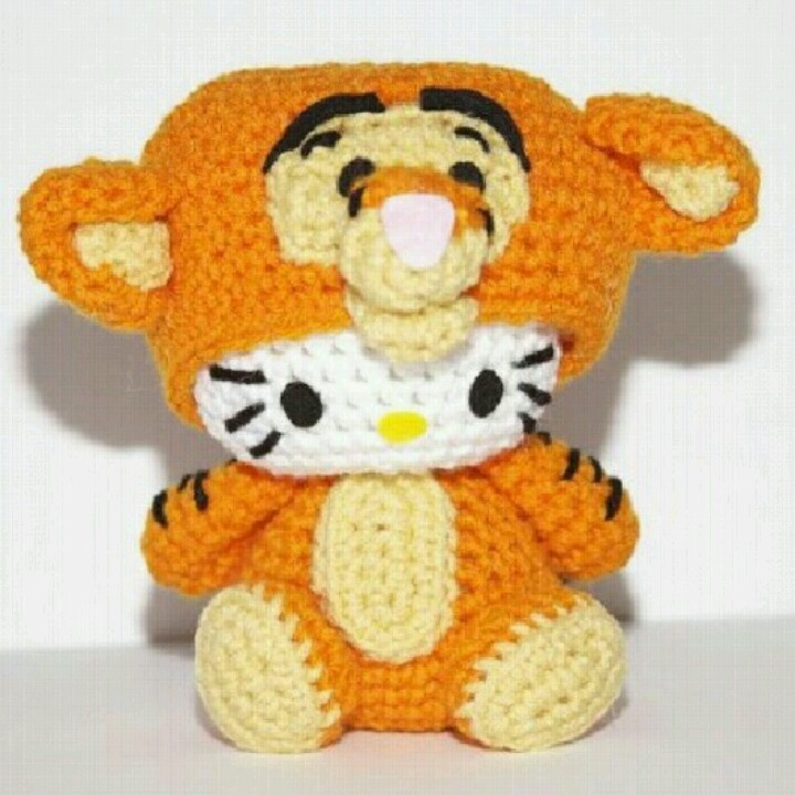 Tigger Hello Kitty.c: