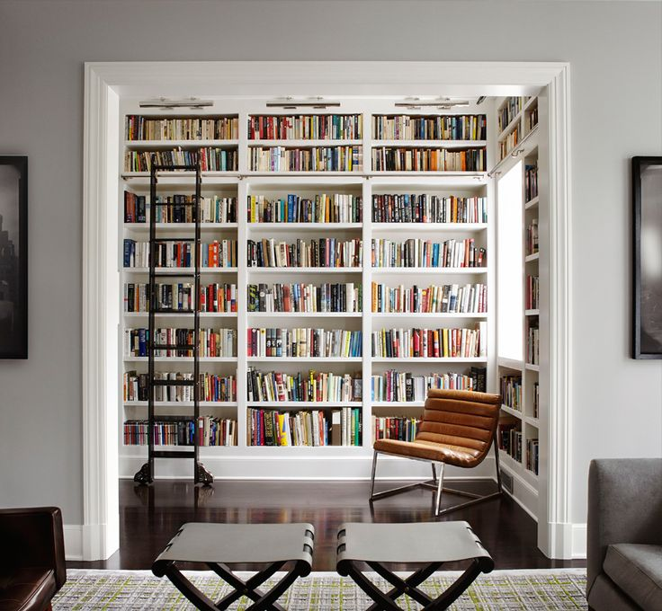 62 Home Library Design Ideas With Stunning Visual Effect: Best 20+ Bookcases Ideas On Pinterest