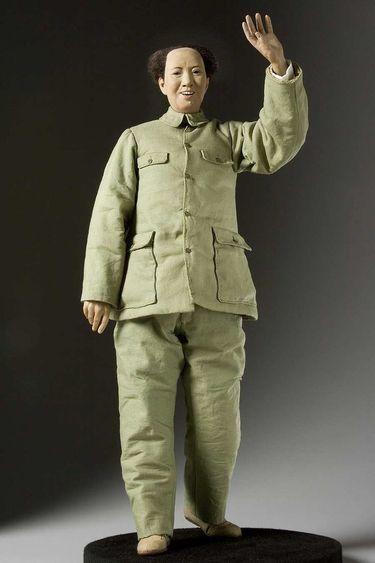 full length color image of mao tse tung aka mao zedong chairman mao