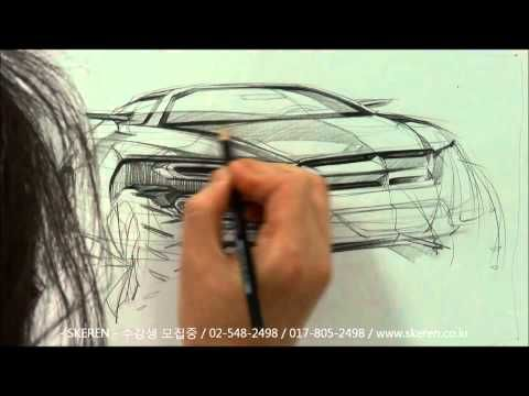 Car Design Sketching 자동차 스케치 & 디자인 - YouTube