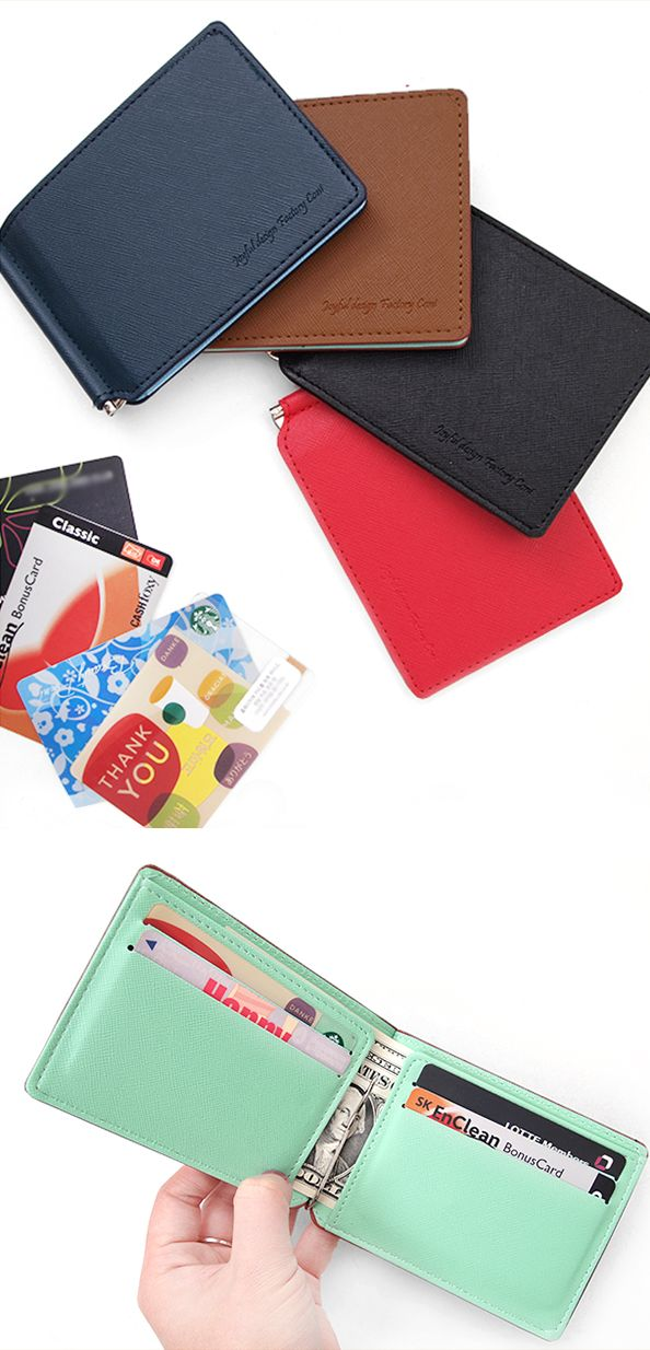 A fresh new way to keep your cash and cards together in the sleek and beautiful CONI Money Clip!