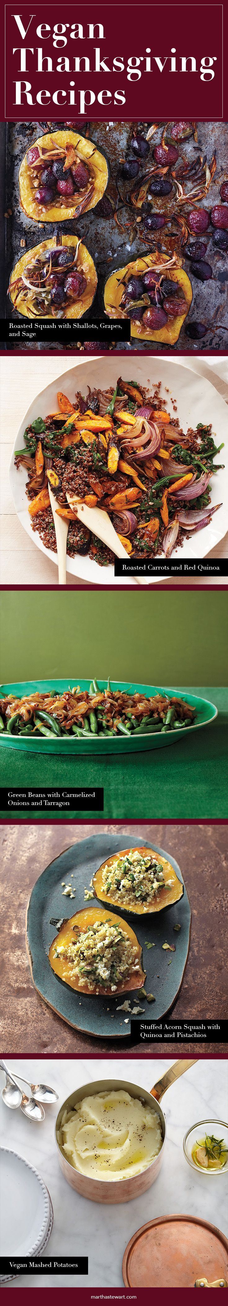 Vegan Thanksgiving Recipes | Martha Stewart Living