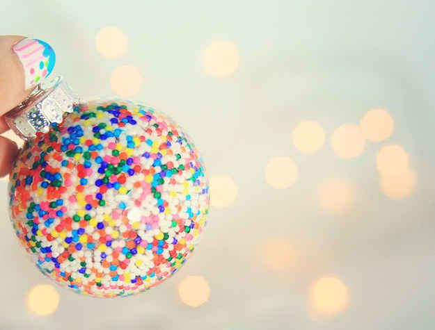 Sprinkle ornaments