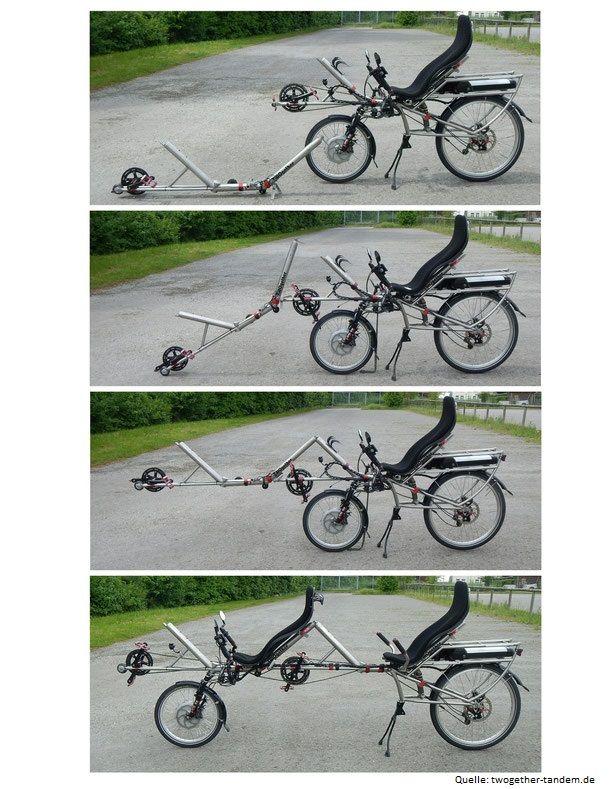 TWOgether: Tandem, Liegerad und Cargobike in einem Pedelec vereint | Velostrom, Pedelec Online-Magazin
