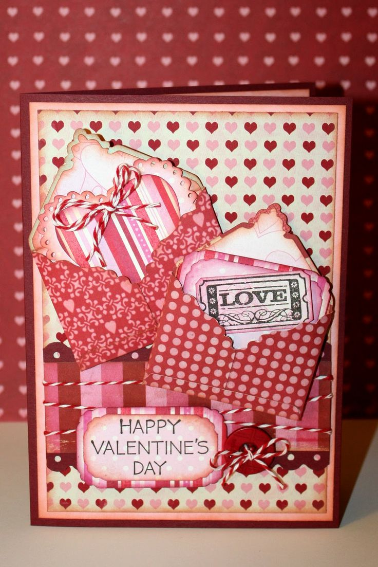 432 best images about Valentines Day Scrapbooking – Homemade Valentines Day Cards Kids