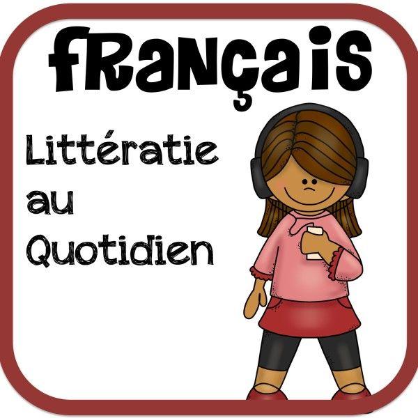 Des Ateliers de Littératie au Quotidien!