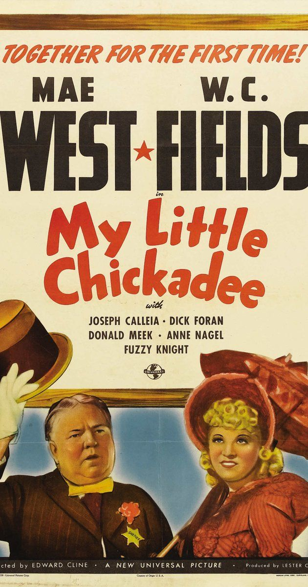 "Directed by Edward F. Cline.  With Mae West, W.C. Fields, Joseph Calleia, Dick Foran. Rightly suspected of illicit relations with the Masked Bandit, Flower Belle Lee is run out of Little Bend. On the train she meets con man Cuthbert J. Twillie and pretends to marry him for ""respectability."" Arrived in Greasewood City with his unkissed bride, Twillie is named sheriff by town boss Jeff Badger...with an ulterior motive. Meanwhile, both stars inimitably display their specialties, as ......"