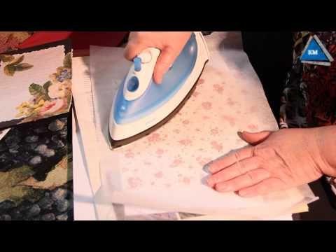 Как сделать декоративную бумагу своими руками - YouTube