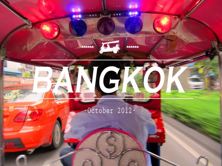 My holidays in Bangkok!
