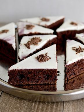 Pradobroty: Čokoládové řezy z červené řepy