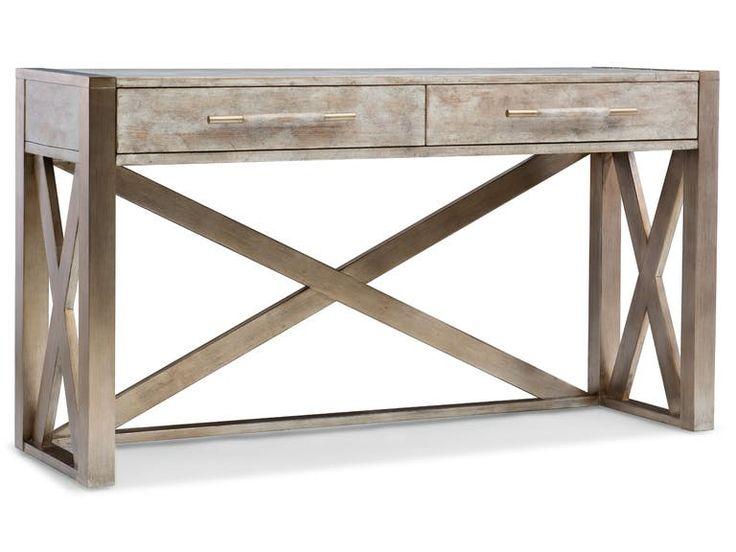 Hooker Furniture Melange Lani Standing Desk/Console 638-10014-LTBR