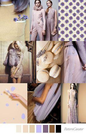 Spring/Summer 2018 colors trends: HONEY LAVENDER