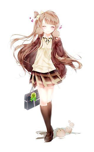 橘葵采集到动漫少女