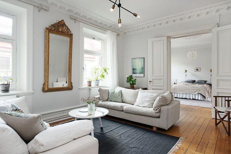 Petite Salle De Bain Avec Wc :  sur Pinterest  Intérieurs, Design dintérieur suédois et Salon