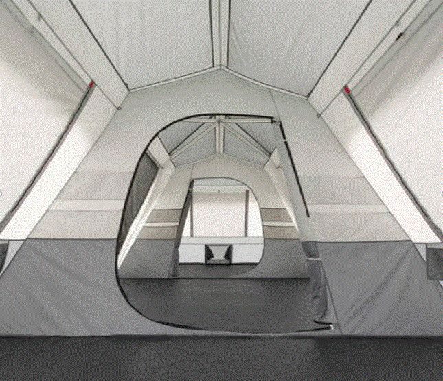 Cabin Tent Ozark Trail 15 Person Camping Family Outdoor Instant Tents Split Plan