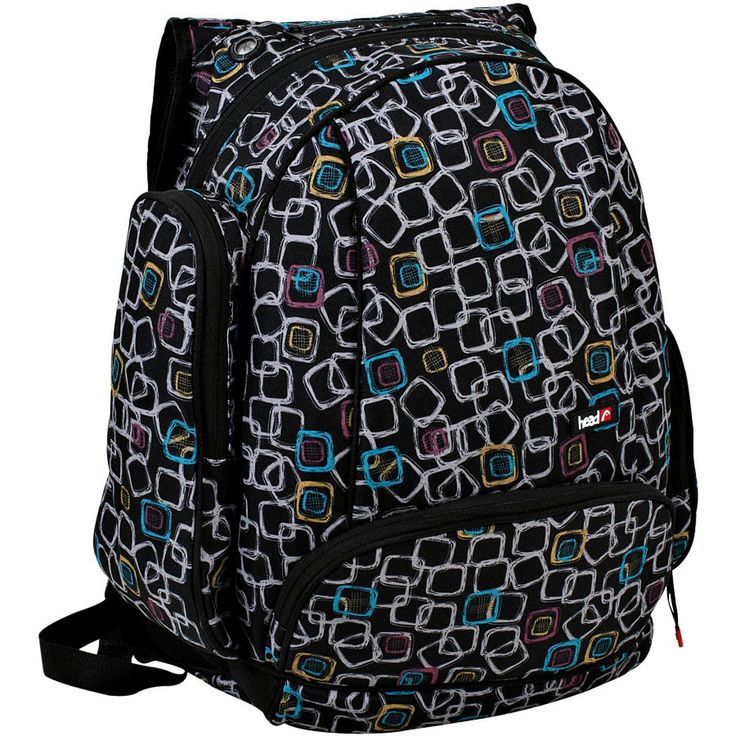 Head Snowboards USA Snowboard Backpack Neon Squares, One Size. Recommended Use: snowboarding.