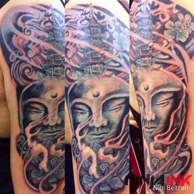 Buddhist Half Sleeve Tattoo: 16 Best Sleeve Tattoos Images On Pinterest