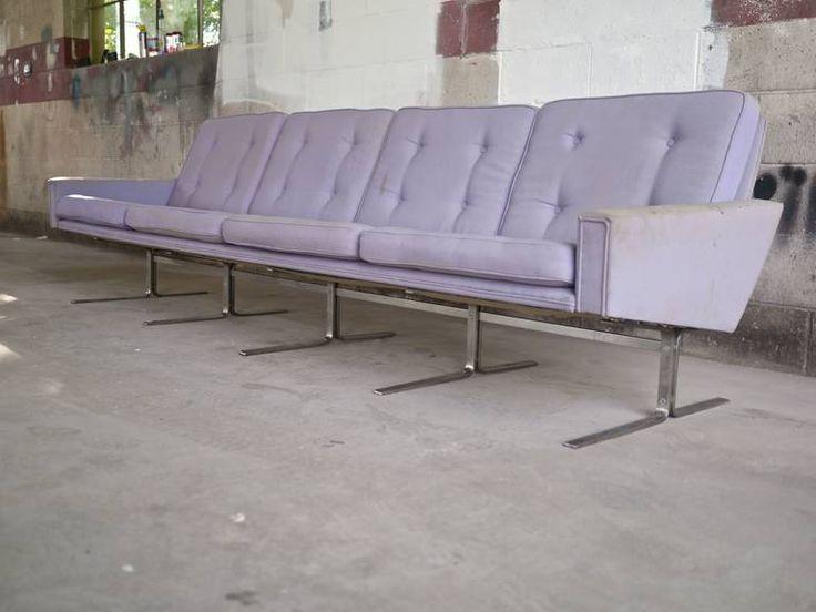 Danish Sofa by Poul Norreklit for Hovedstadens Møbelfabrik 4