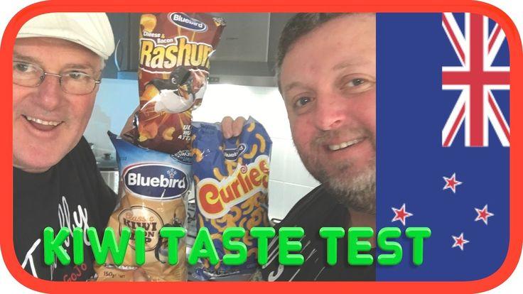 Blue Bird Snacks | Australians Taste Test New Zealand Food #snacks