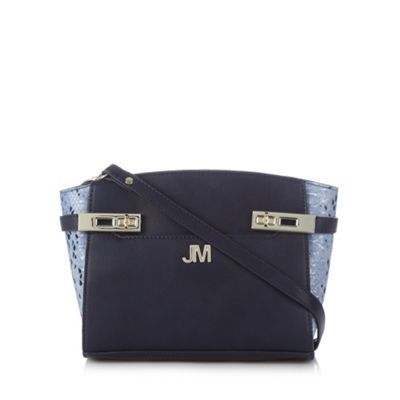 Star by Julien Macdonald Designer navy twist lock trim cross body bag- at Debenhams.com