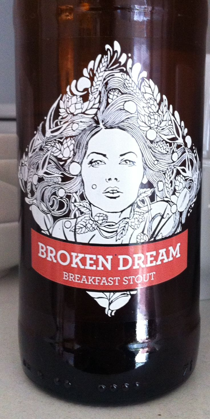 Siren Broken Dream Breakfast Stout ABV 6%. Berkshire. 8/10