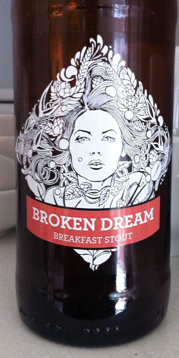 Siren Broken Dream Breakfast Stout ABV 6%. Berkshire. 8/10