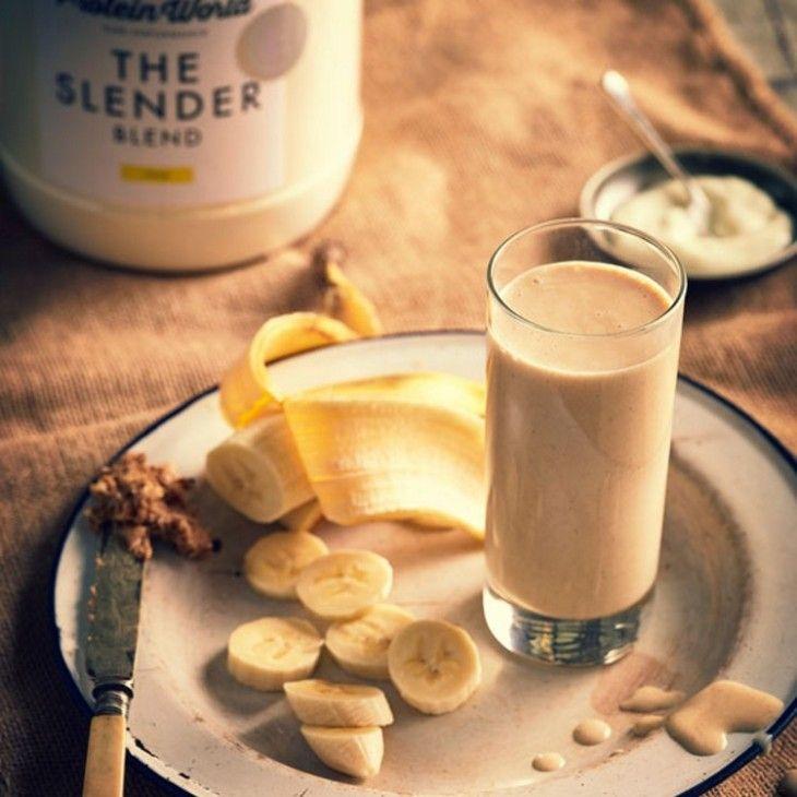 Slender Peanut Butter & Banana Shake