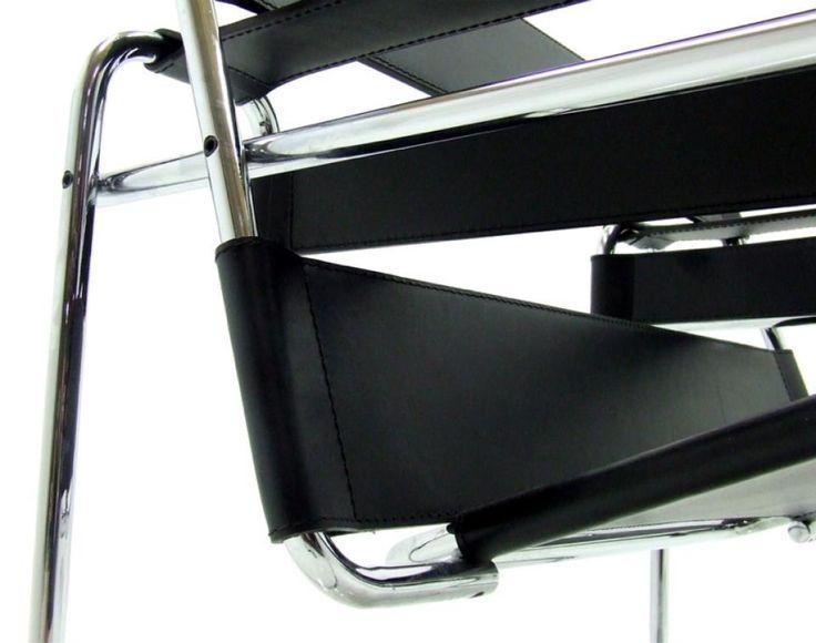 Bauhaus sessel klassiker kaminsessel bauhaus design leder for Barcelona sessel nachbau