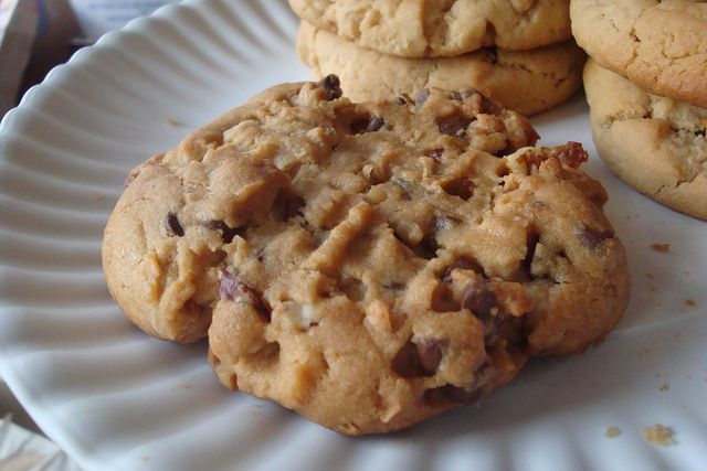 PB Cookie with chocolate chips, coconut, and pecans by cakespy, via Flickr