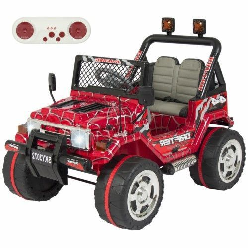 Electric Kids Ride On Car Truck Spiderman 12V Remoe Control Toddler 2 Speed Toy #Unbranded