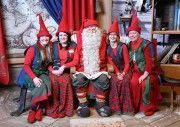 Oficina de Correos de Papá Noel. Santa Claus.