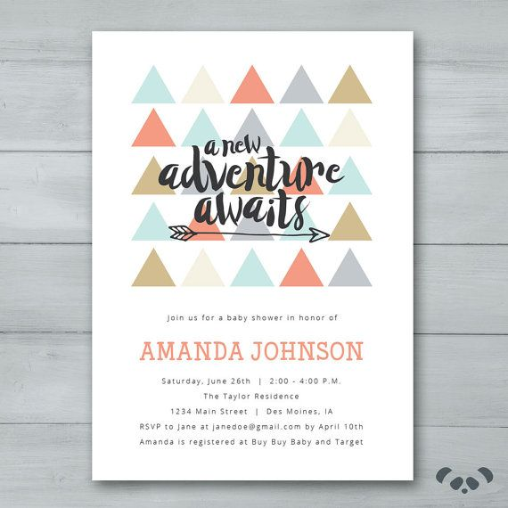 le th me arrow baby shower sur pinterest invitations baby shower