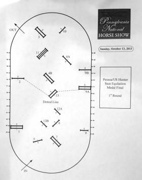 2013 Pessoa/USEF Medal Finals Order Of Go And Course | The Chronicle of the Horse