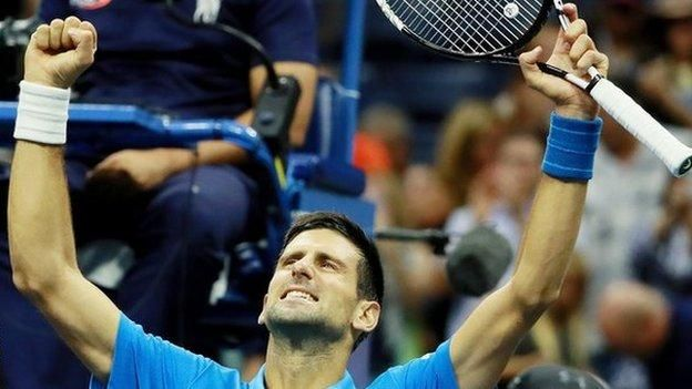US Open 2016: Novak Djokovic beats Kyle Edmund in fourth round - BBC Sport