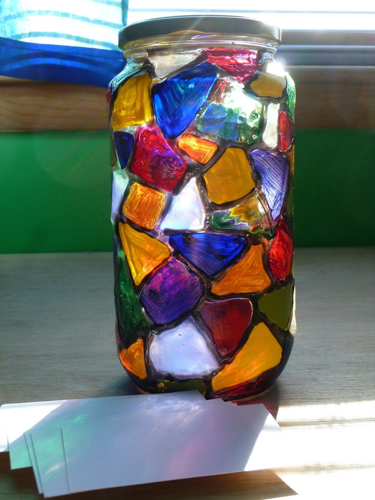 Gratitude Jar--just looking at this jar makes me happy! I'd love to put plant cuttings in there.
