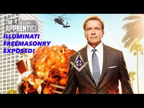 CELEBRITY APPRENTICE FREEMASON ILLUMINATI SYMBOLS EXPOSED! (ARNOLD SCHWARZENEGGER DONALD TRUMP) - YouTube