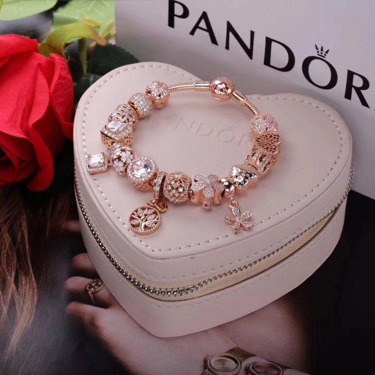 réplica de jóias, colar rosa, pulseira estampada   – beads bracelet
