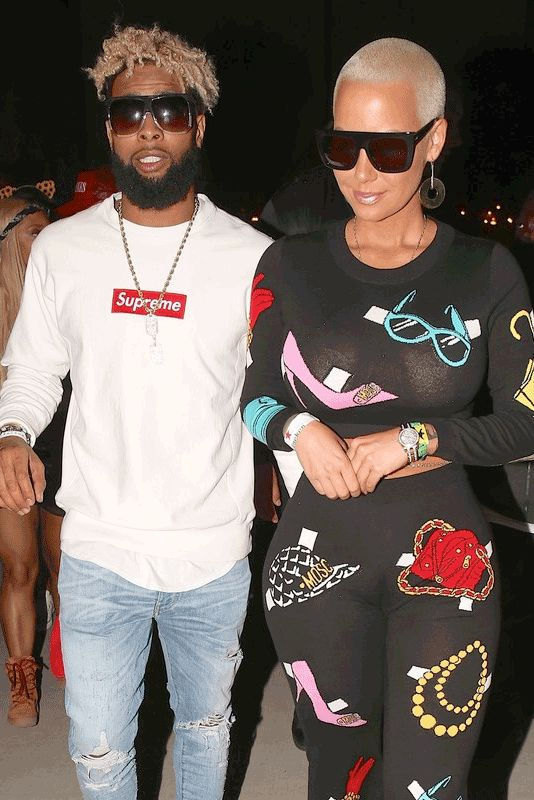 Amber Rose and Odell Beckham all but announced that they're dating – after being spotted together at Coachella for the third day in a row. The two were spotted throughout the weekend, getting dinner, taking in a concert and grabbing some munchies at a fast food restaurant in the wee hours. Amber Rose definitely has …
