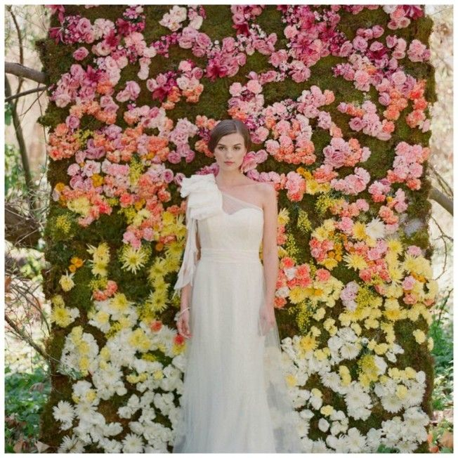 Gorgeous Floral Backdrops for your Wedding | Bunchesdirect