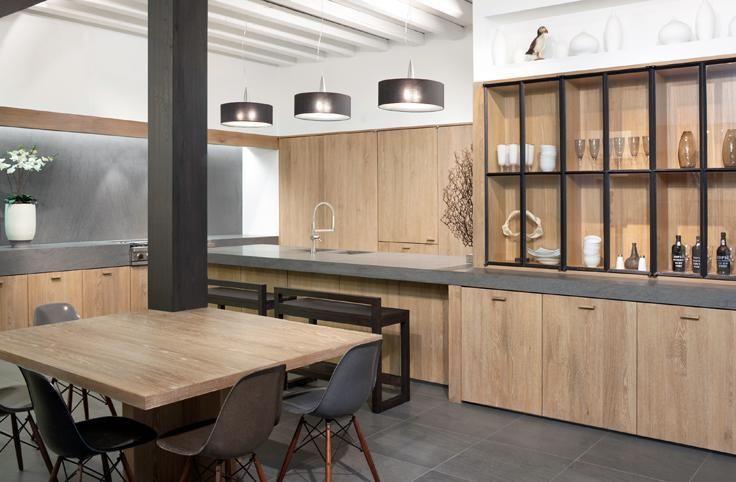 89 best Keukens images on Pinterest Kitchen modern, Cuisine design - maison en beton banche